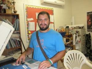 Mr. Brian, 11th grade adviser