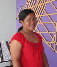 Ms. Jennifer, Marshallese Language Arts teacher