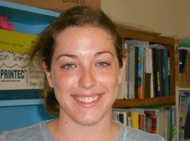 Ms. Katie, helps school apply for grants